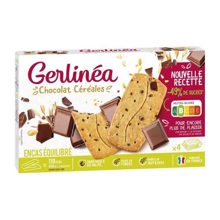 Gerlinéa biscuits aux céréales et au chocolat 200g - Achat ...