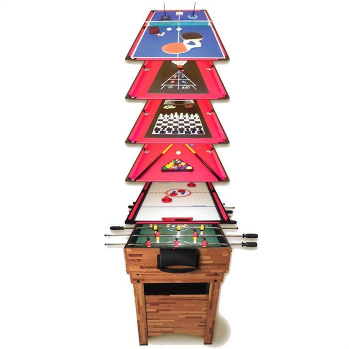 Table de jeu 12 en 1 arcade jeux par ren pierre achat vente table mult - Table multi jeux 12 en 1 ...