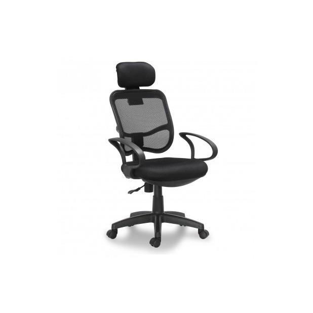 Si ge de bureau noir ergonomique avec accoudoir achat - Chaise de bureau avec accoudoir ...