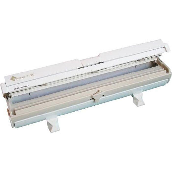 Wrap film d rouleur coupe film compact wrapmaster 1000 - Derouleur film alimentaire ...