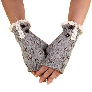 GANT 1 Paire Gants d'hiver femmes Mitaines tricotées Ga