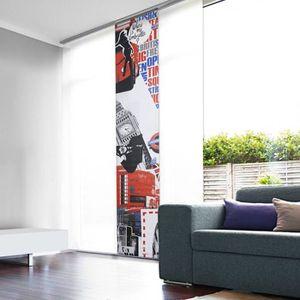 panneau japonais tamisant london achat vente panneau japonais cdiscount. Black Bedroom Furniture Sets. Home Design Ideas