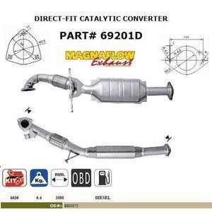 POT CATALYTIQUE Pot catalytique pour Volvo XC90 2.4TD 2402 cc 120