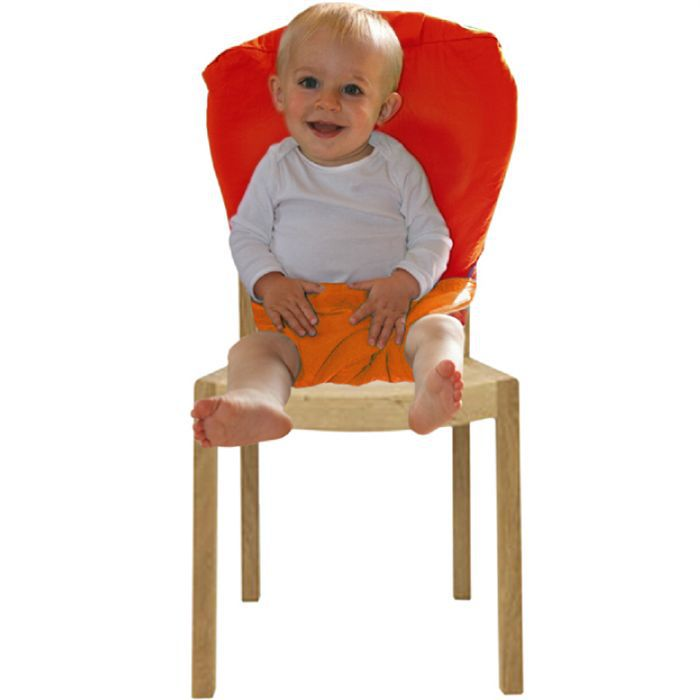 Glob 39 kids r hausseur de chaise orange orange achat vente r hausseur si ge glob 39 kids - Rehausseur de chaise nomade ...