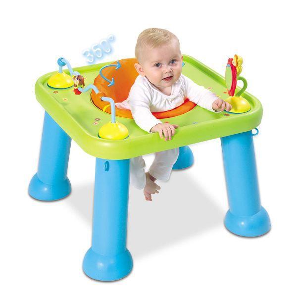 smoby youpi baby cotoons bleu vert orange achat vente porteur pousseur 3032162110195. Black Bedroom Furniture Sets. Home Design Ideas