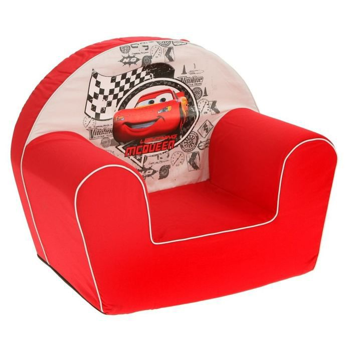 cars fauteuil mcqueen rouge disney achat vente fauteuil canap b b 5413538200197. Black Bedroom Furniture Sets. Home Design Ideas