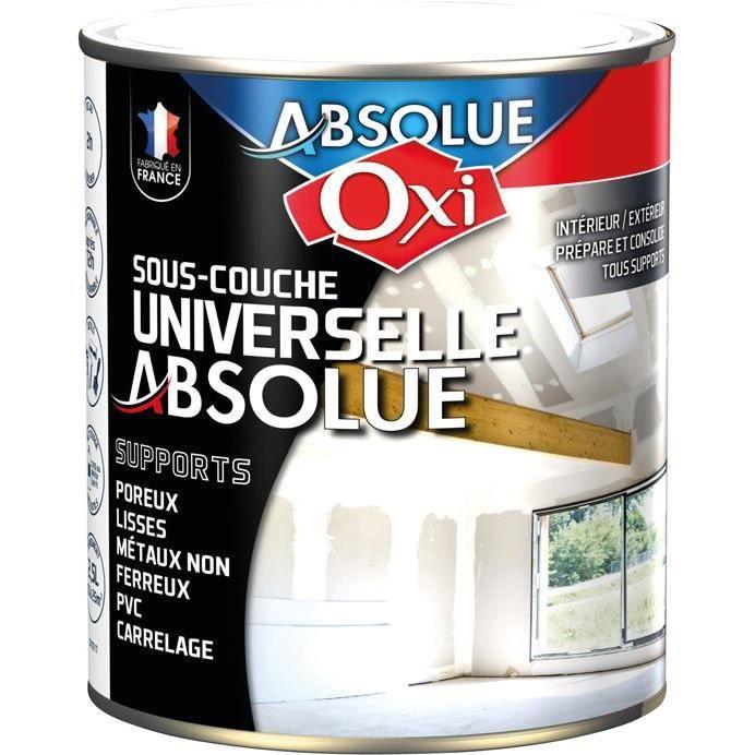 sous couche universelle absolue 2 5 litres achat vente peinture vernis cdiscount. Black Bedroom Furniture Sets. Home Design Ideas