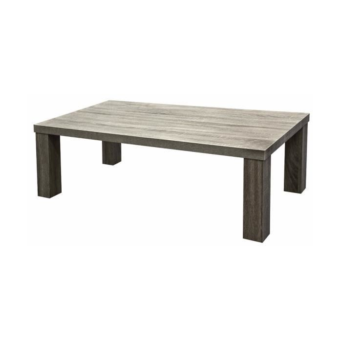 adria table basse grise achat vente table basse adria table basse grise cdiscount. Black Bedroom Furniture Sets. Home Design Ideas