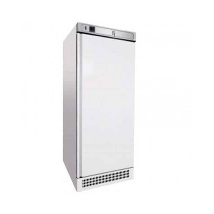 Armoire froide positive laqu e blanche 400 l 1 porte pleine r frig rateur - Armoire blanche 1 porte ...