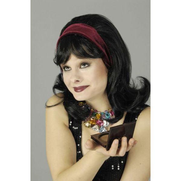 perruque femme ann es 50 achat vente chapeau. Black Bedroom Furniture Sets. Home Design Ideas