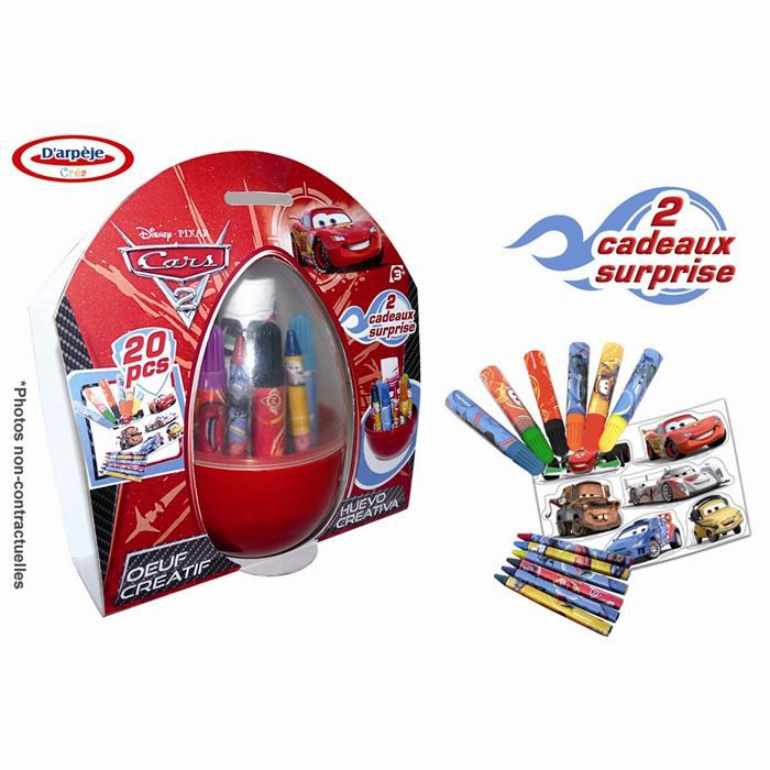 Oeuf de coloriage cars achat vente jeu de mode couture stylisme oeuf de coloriage - Coloriage cars couleurs ...