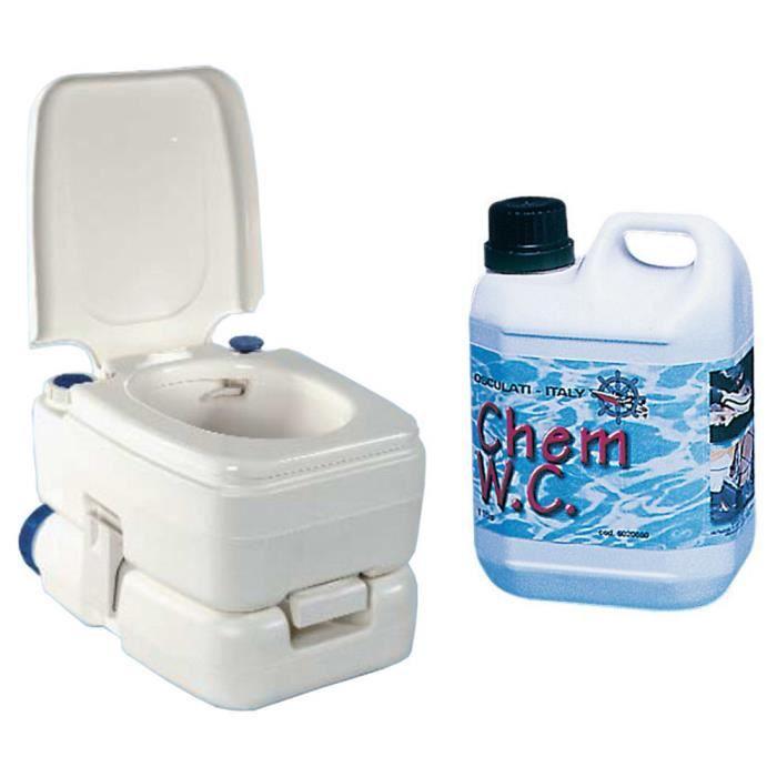pack wc chimique bipot 30 1 litre de liquide wc achat vente wc toilette bidet pack wc. Black Bedroom Furniture Sets. Home Design Ideas