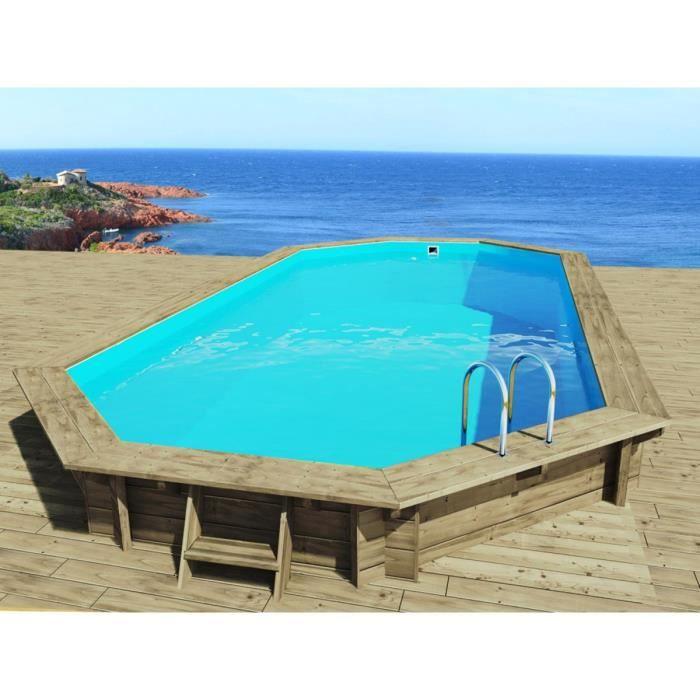 piscine bois sevilla x x m achat