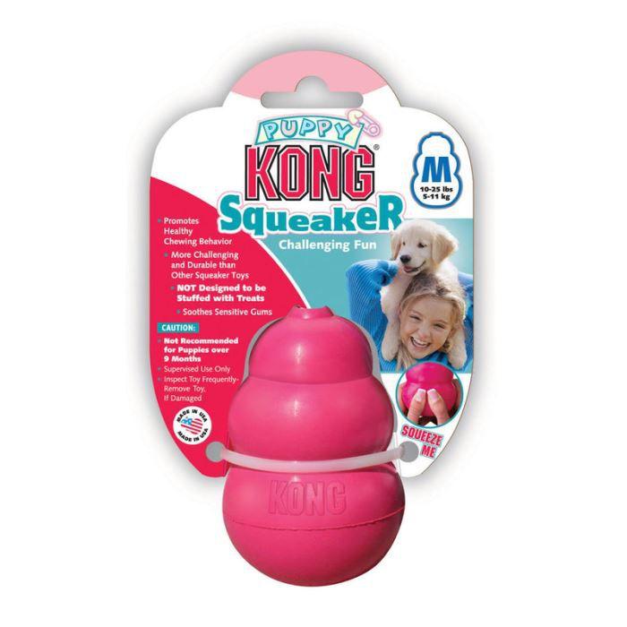 jouet pour chien kong squeaker puppy taille m achat vente jouet jouet pour chien kong. Black Bedroom Furniture Sets. Home Design Ideas