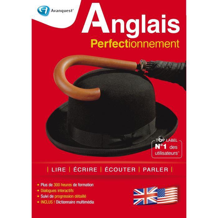LOGICIEL BUREAUTIQUE  Anglais Top Label Perfectionnement