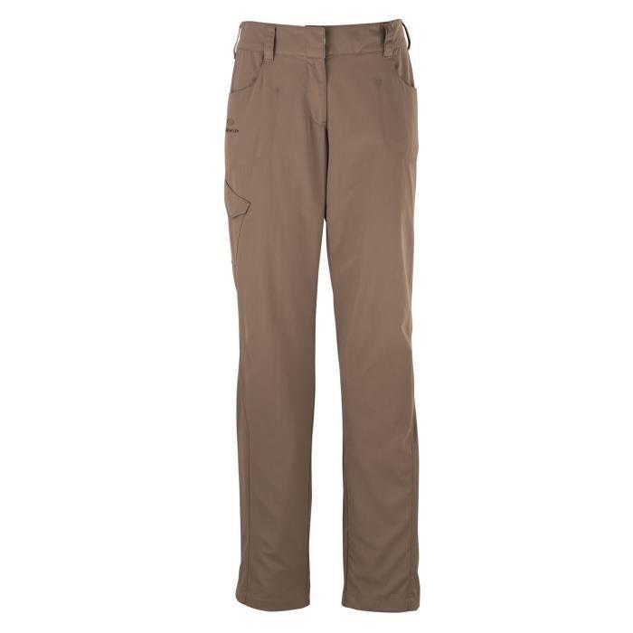 pantalon de randonn e femme eide marron marron achat vente pantalon de sport cdiscount. Black Bedroom Furniture Sets. Home Design Ideas