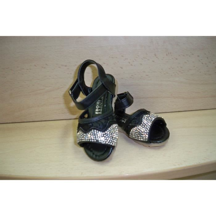 chaussure sandale nu pied bebe fille noir achat vente sandale nu pieds cdiscount. Black Bedroom Furniture Sets. Home Design Ideas