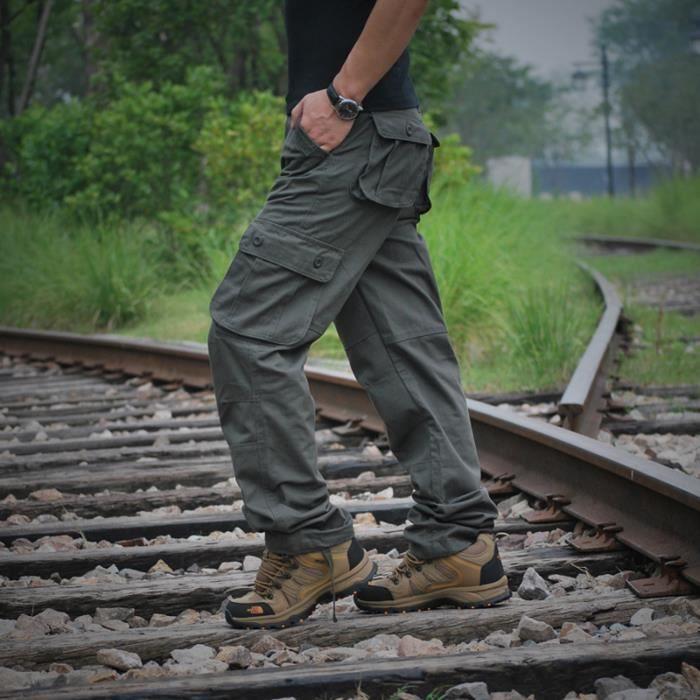 Combat pantalons treillis militaire vintage car gris - Treillis militaire occasion ...