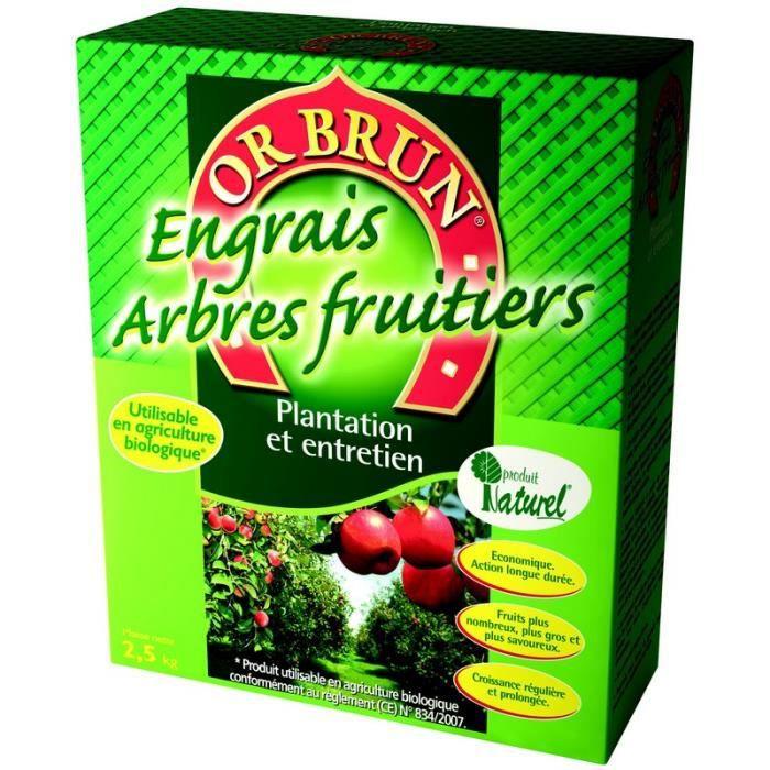 engrais arbres fruitiers 2 5 kg 120801 achat vente. Black Bedroom Furniture Sets. Home Design Ideas