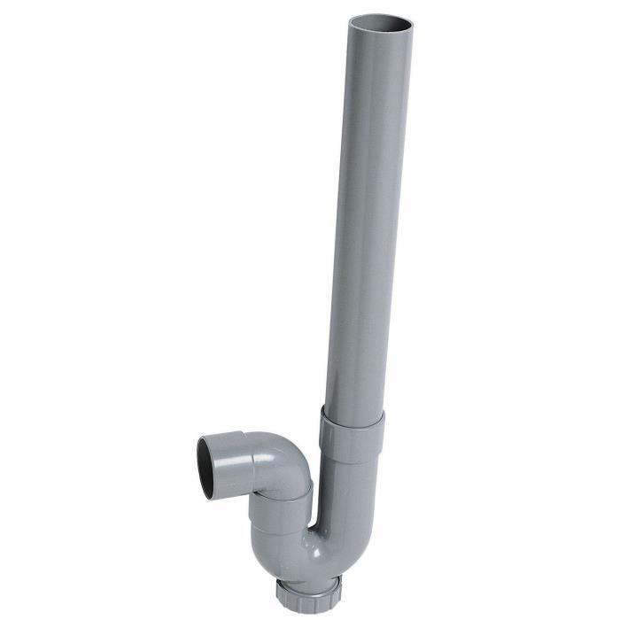 Wirquin siphon machine laver sortie horizontale achat vente siphon de lavabo siphon mal - Hauteur siphon machine a laver ...