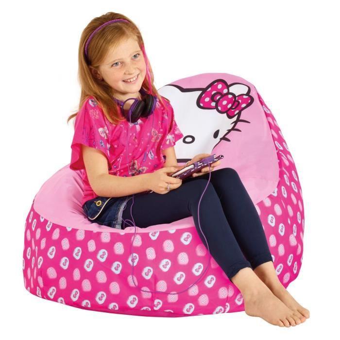 worlds apart hello kitty fauteuil enfant gonflable et d pliable achat vente fauteuil. Black Bedroom Furniture Sets. Home Design Ideas