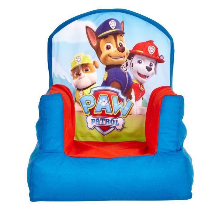 pat patrouille fauteuil enfant gonflable worlds appart achat vente fauteuil canap b b. Black Bedroom Furniture Sets. Home Design Ideas