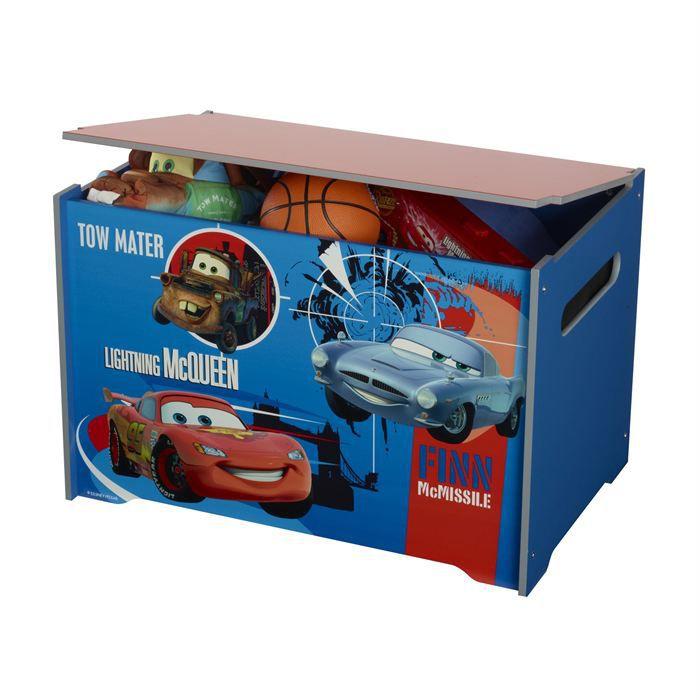 coffre a jouets cars achat vente coffre jouets soldes d hiver d s le 11 janvier cdiscount. Black Bedroom Furniture Sets. Home Design Ideas