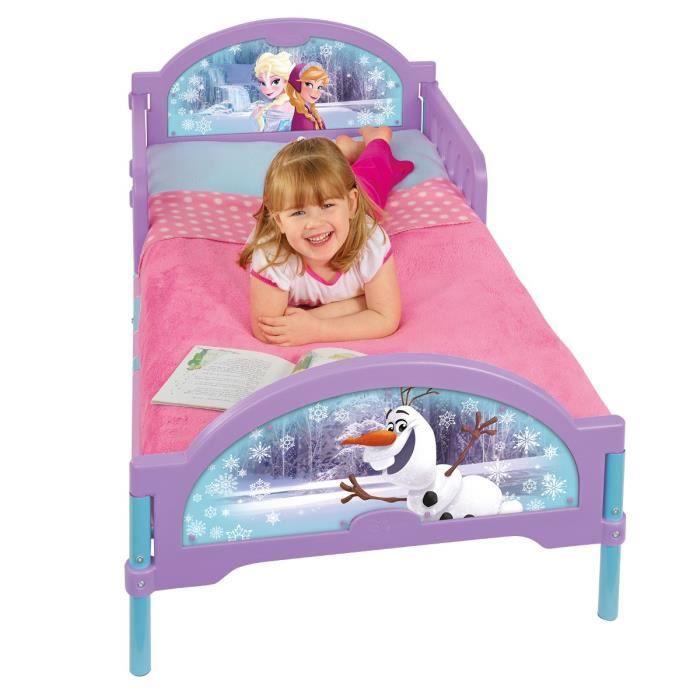 La reine des neiges lit enfant 70 x 140 cm achat vente for Chambre reine des neiges