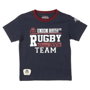 MAILLOT DE RUGBY KAPPA T-shirt Rugby UBB Homme RGB