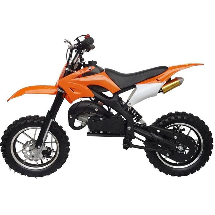Moto moto dirt bike enfant orange