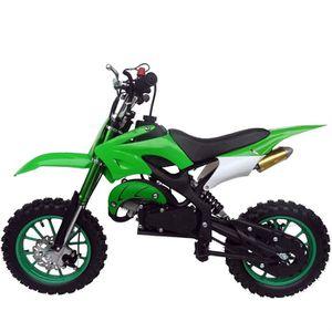 Moto DIRT BIKE enfant Verte