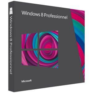 SYSTÊME D'EXPLOITATION Windows 8 Professionnel - Version mise à jour