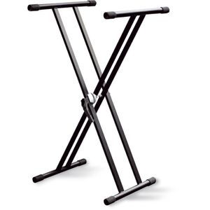 PIED - STAND DELSON Stand clavier double