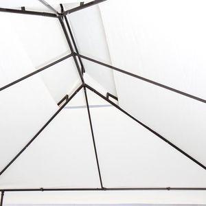 TONNELLE - BARNUM Pavillon de jardin env. 4 X3 m beige