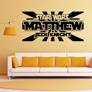 Decoration de chambre star wars achat vente decoration - Stickers muraux salon ...
