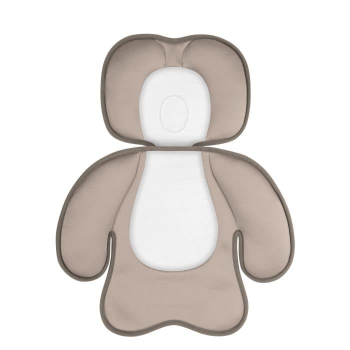 Babymoov coussin si ge auto cosyseat beige beige et blanc for Taille siege auto bebe