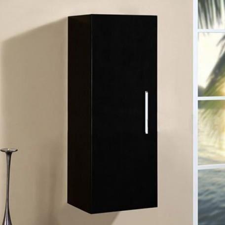 Col844n colonne de rangement coloris noir achat vente - Colonne salle de bain cdiscount ...