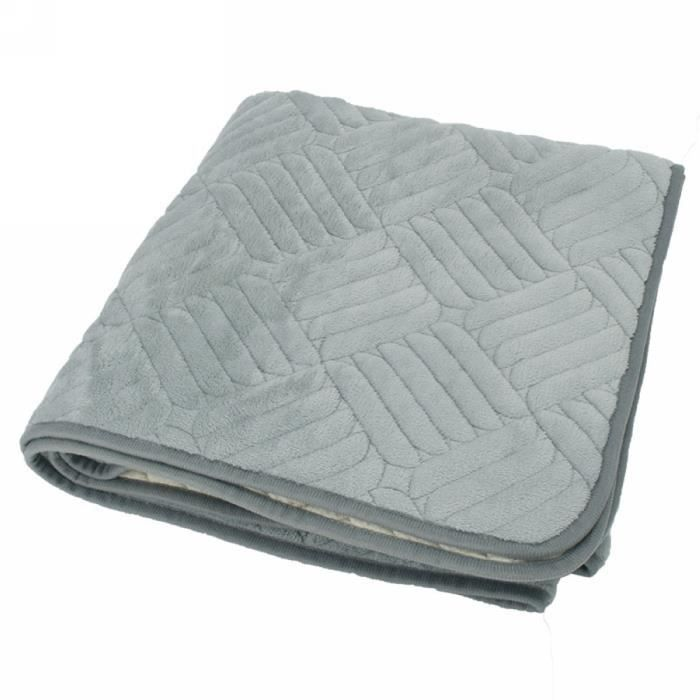 Prot ge canap gris housse de protection sofa pour enfant for Plaid de protection canape