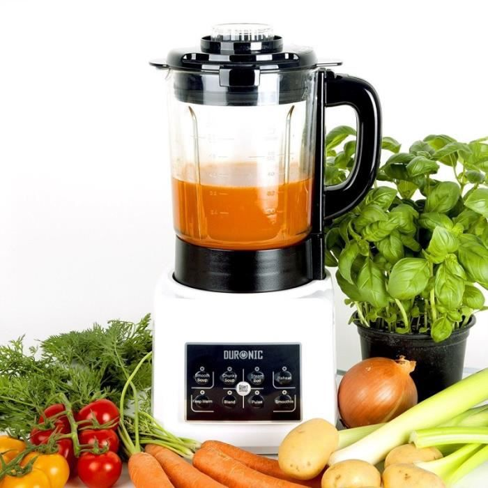 BLENDER Duronic BL89 Blender chauffant 1,75 l - Fonctions