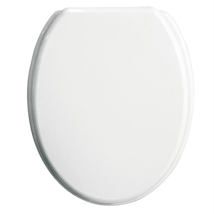 Abattant wc 39 absolu 39 blanc achat vente abattant wc - Abattant wc bois ...