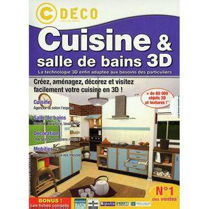 JEU PC CUISINE & SALLE DE BAINS 3D / PC DVD-ROM