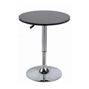 table ronde haute. Black Bedroom Furniture Sets. Home Design Ideas