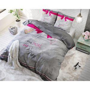 housse de couette 200x220 gris achat vente housse de couette 200x220 gris. Black Bedroom Furniture Sets. Home Design Ideas