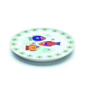 Assiette plate en porcelaine Pain d'épices : 20…
