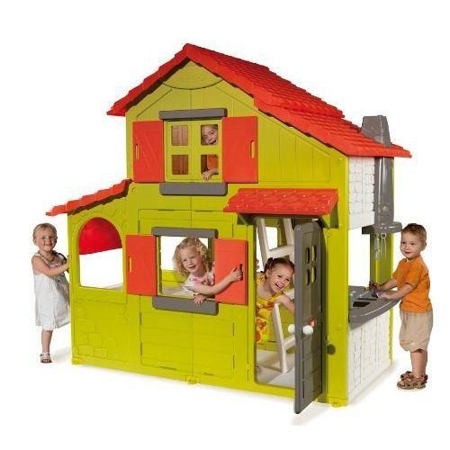SMOBY Maison Enfant Duplex Verte Achat / Vente maison jeux