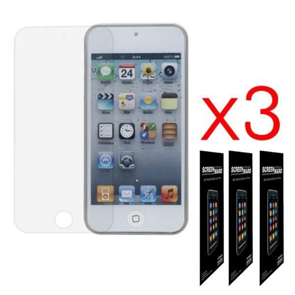 pour apple ipod touch 5 lot 3 films protectio achat film protect t l phone pas cher avis. Black Bedroom Furniture Sets. Home Design Ideas
