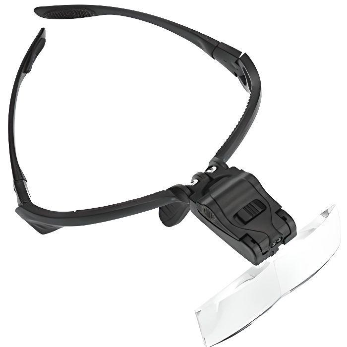 lunettes de protection loupe magnifier avec bandeau et 5pcs objectifs achat vente lunettes. Black Bedroom Furniture Sets. Home Design Ideas