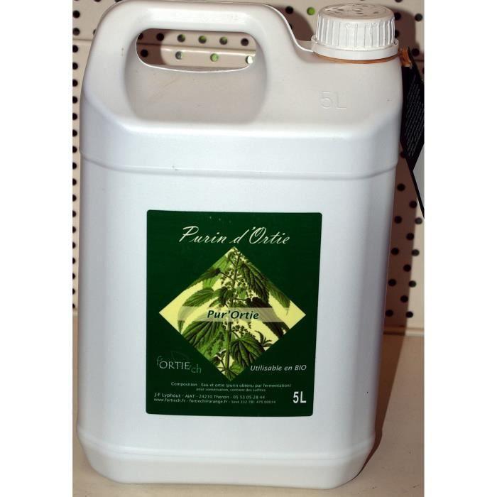 Purin d 39 ortie bidon de 5 litres achat vente for Purin de consoude achat