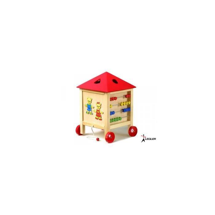 La maison active achat vente table jouet d 39 activit cdiscount - Maison active ...