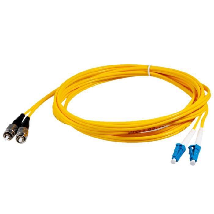 C ble de fibre optique monomode 3m fc lc classe transporteur dual core jau - Fibre optique pas de calais ...
